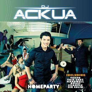 CD-Cover: DJ Ackua - Homeparty